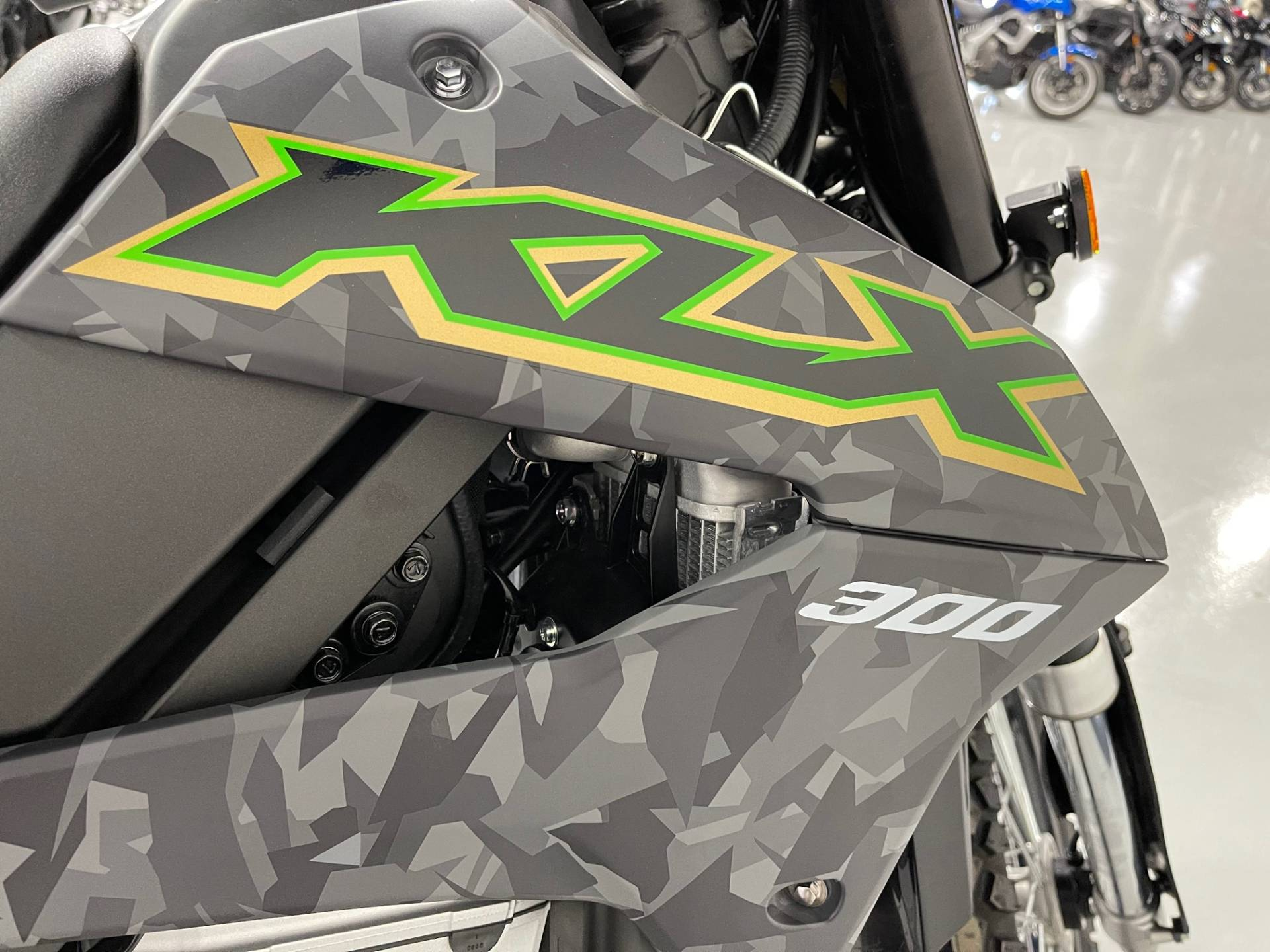 2021 Kawasaki KLX 300 in Brilliant, Ohio - Photo 2