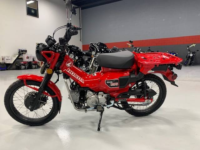 2021 Honda Trail125 ABS in Brilliant, Ohio - Photo 3