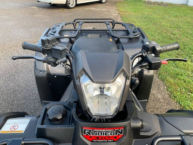 2017 Honda FourTrax Foreman Rubicon 4x4 DCT EPS Deluxe in Brilliant, Ohio - Photo 8
