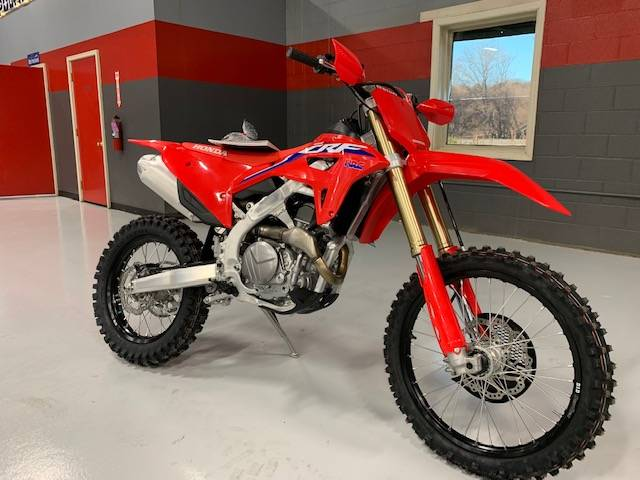 2021 Honda CRF450RX in Brilliant, Ohio - Photo 1