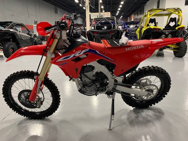 2021 Honda CRF450RX in Brilliant, Ohio - Photo 8