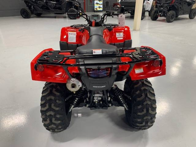 2021 Honda FourTrax Rancher 4x4 Automatic DCT IRS in Brilliant, Ohio - Photo 4