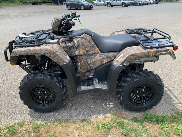 2021 Honda FourTrax Foreman Rubicon 4x4 Automatic DCT EPS Deluxe in Brilliant, Ohio - Photo 8