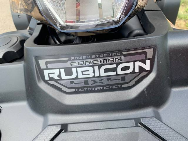 2021 Honda FourTrax Foreman Rubicon 4x4 Automatic DCT EPS Deluxe in Brilliant, Ohio - Photo 11