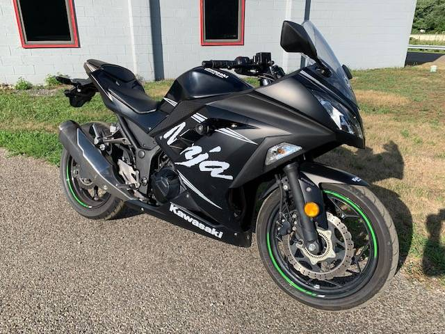 2017 Kawasaki Ninja 300 ABS Winter Test Edition Motorcycles Brilliant Ohio  H10622A