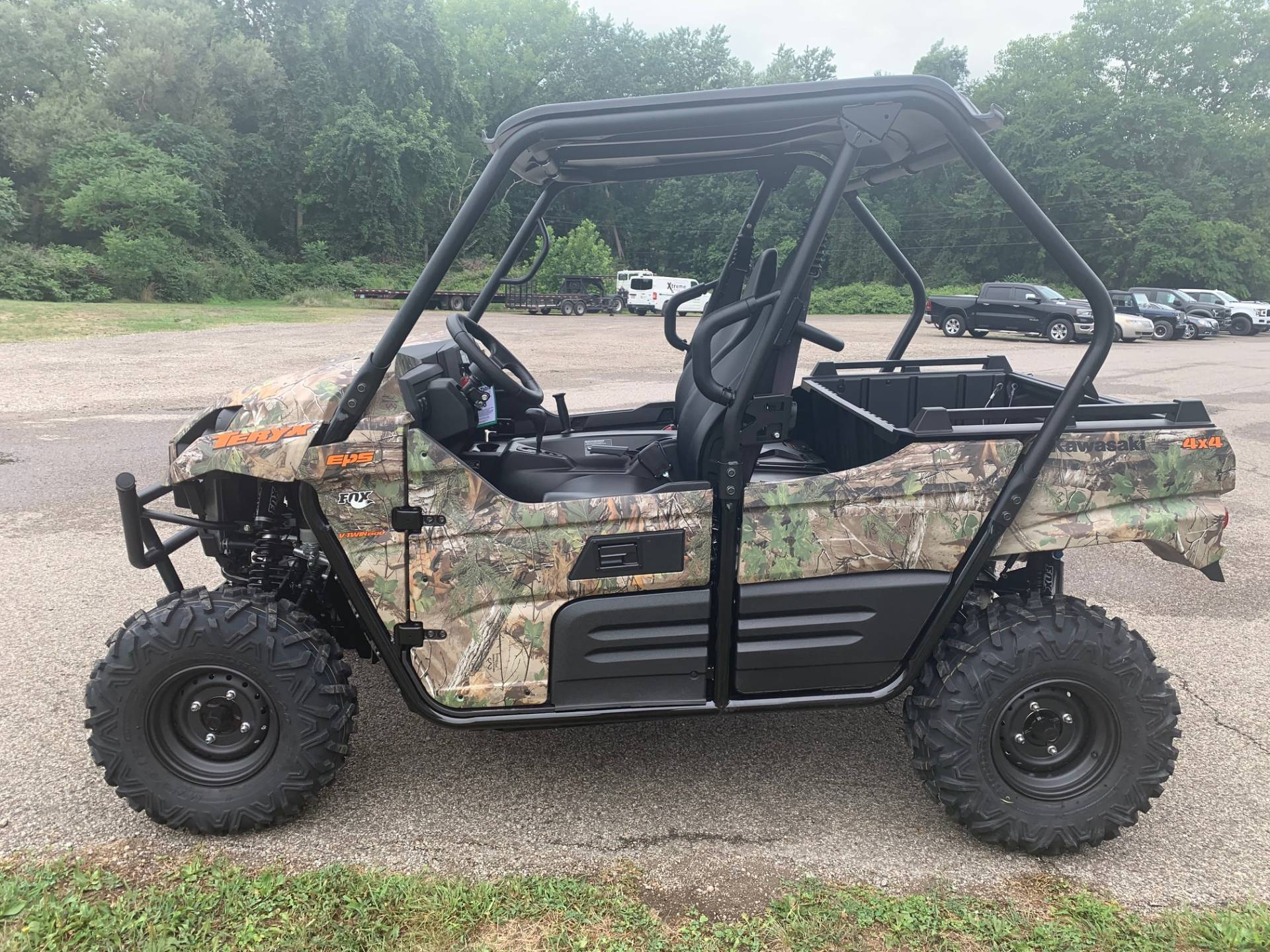 2021 Kawasaki Teryx Camo in Brilliant, Ohio - Photo 10