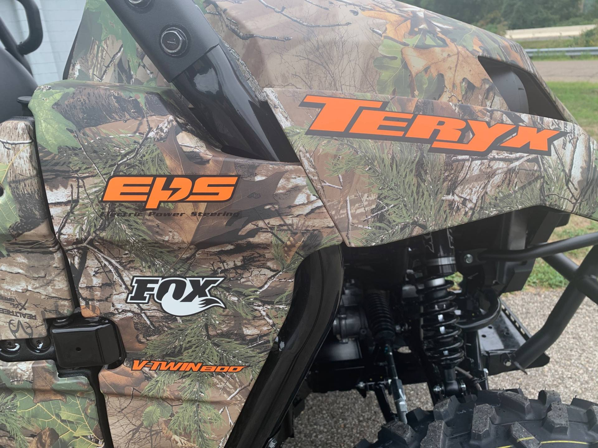 2021 Kawasaki Teryx Camo in Brilliant, Ohio - Photo 5