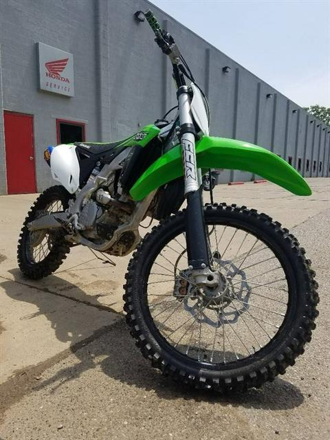 2016 Kawasaki KX250F in Brilliant, Ohio