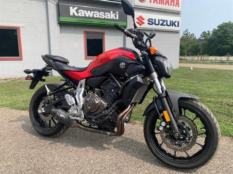 2015 Yamaha FZ-07 in Brilliant, Ohio - Photo 1