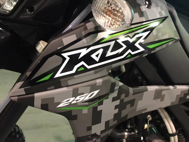 2019 Kawasaki KLX 250 Camo in Brilliant, Ohio - Photo 3