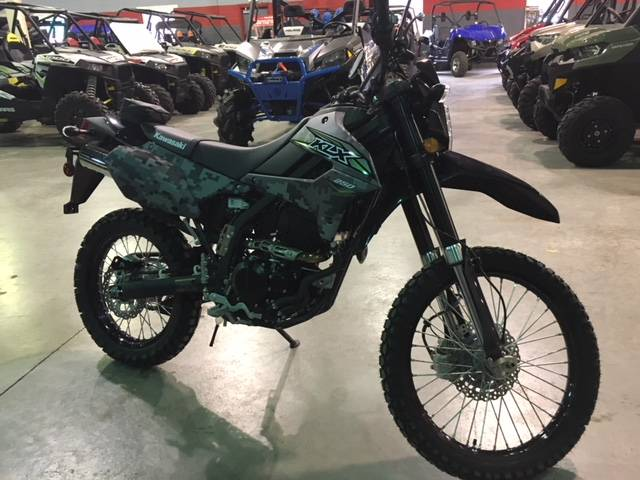 2019 Kawasaki KLX 250 Camo in Brilliant, Ohio - Photo 4