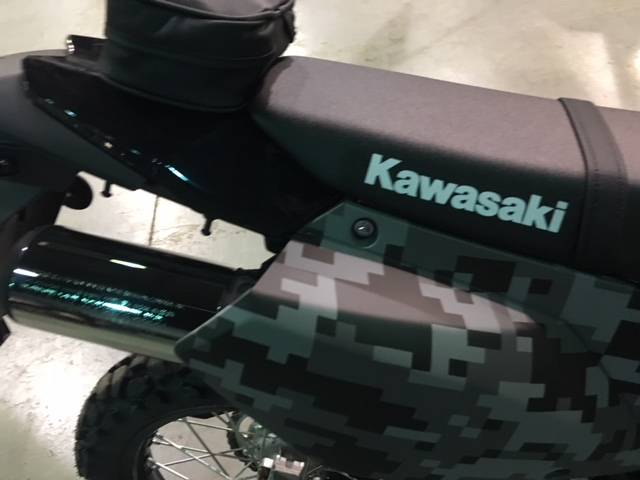 2019 Kawasaki KLX 250 Camo in Brilliant, Ohio - Photo 7