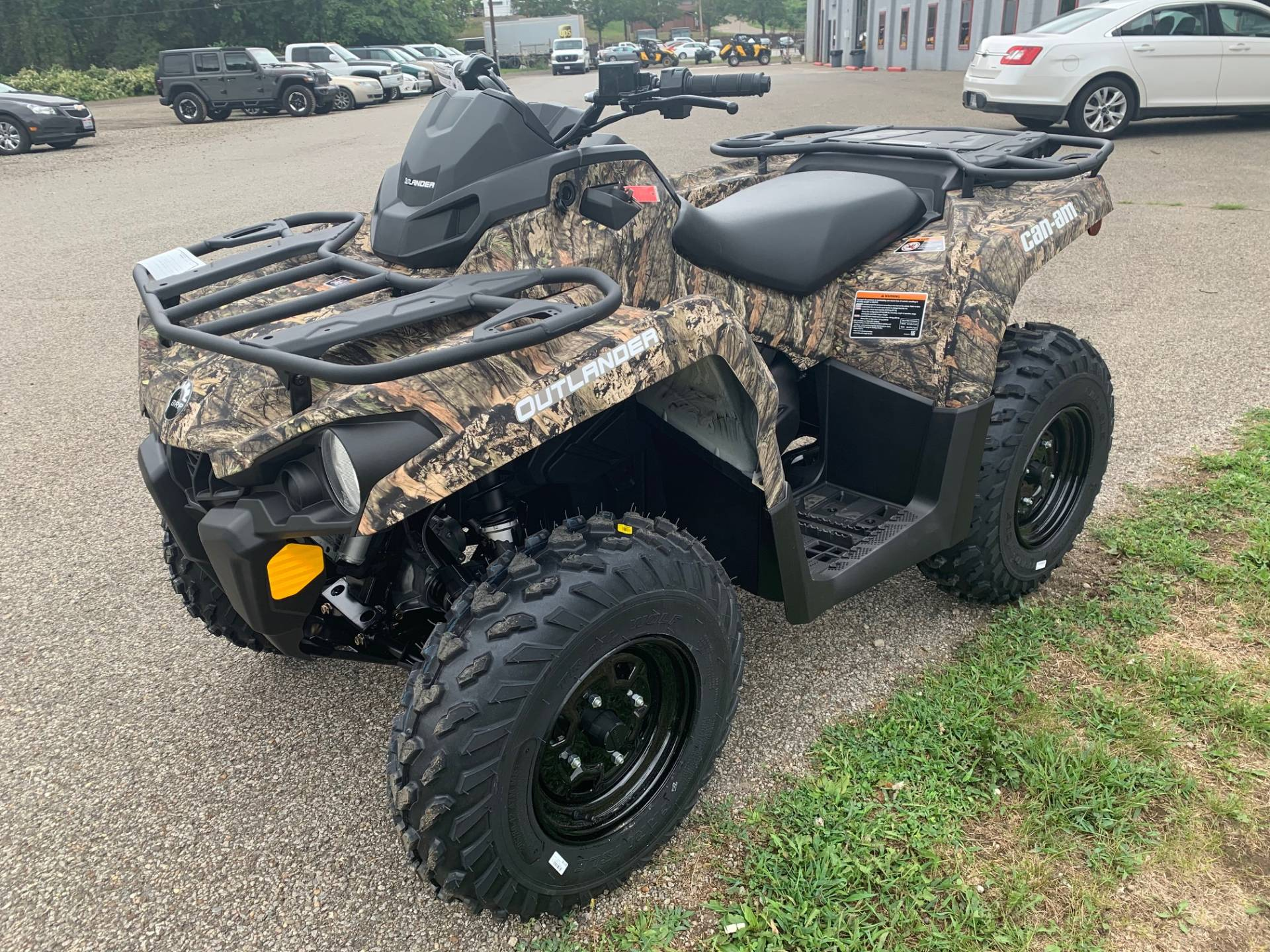 2021 Can-Am Outlander DPS 450 in Brilliant, Ohio - Photo 7