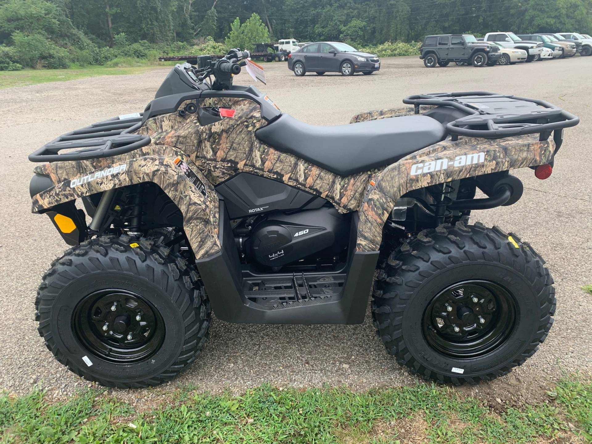 2021 Can-Am Outlander DPS 450 in Brilliant, Ohio - Photo 8