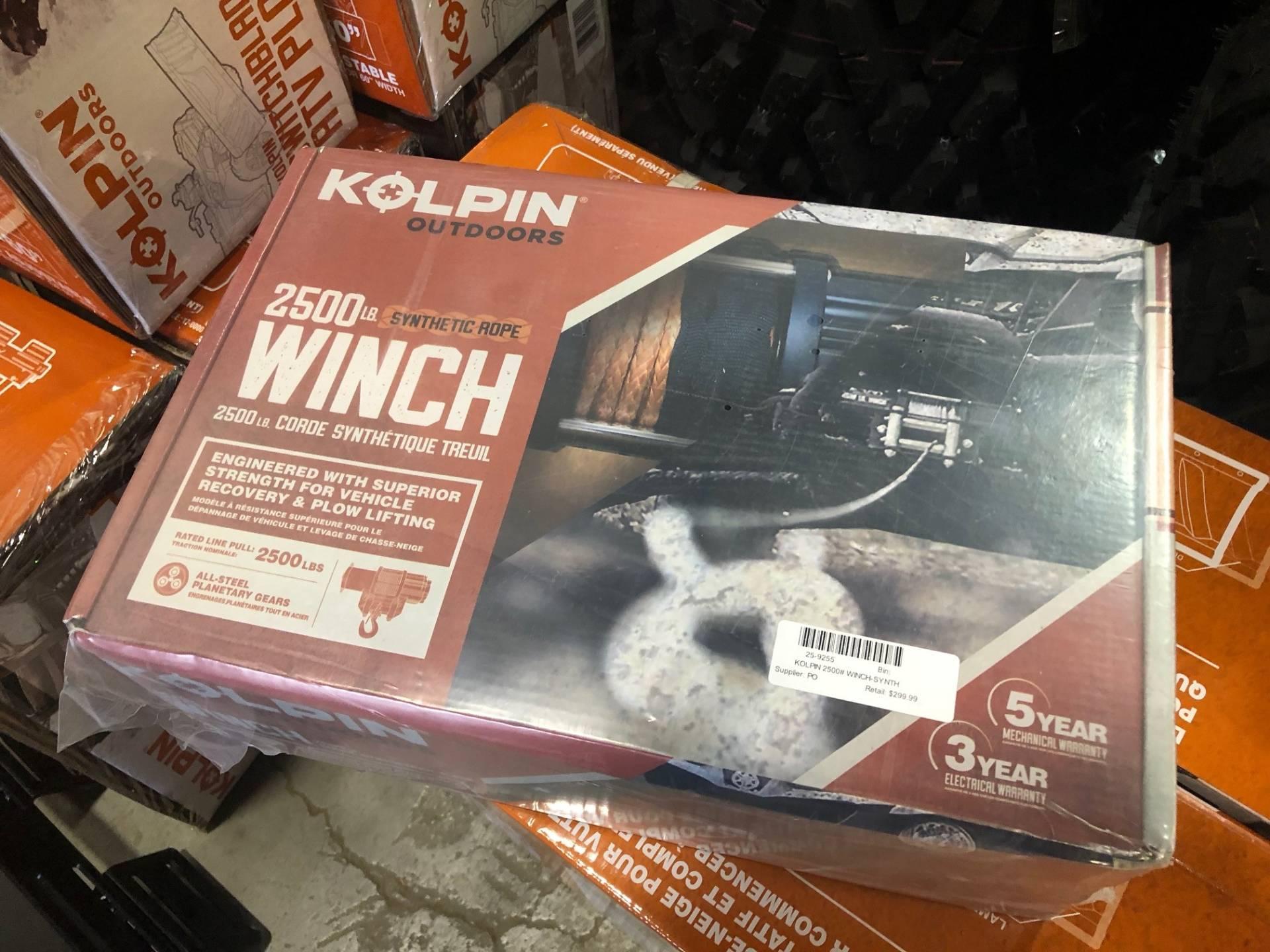 Kolpin 25-9255 Synthetic Winch