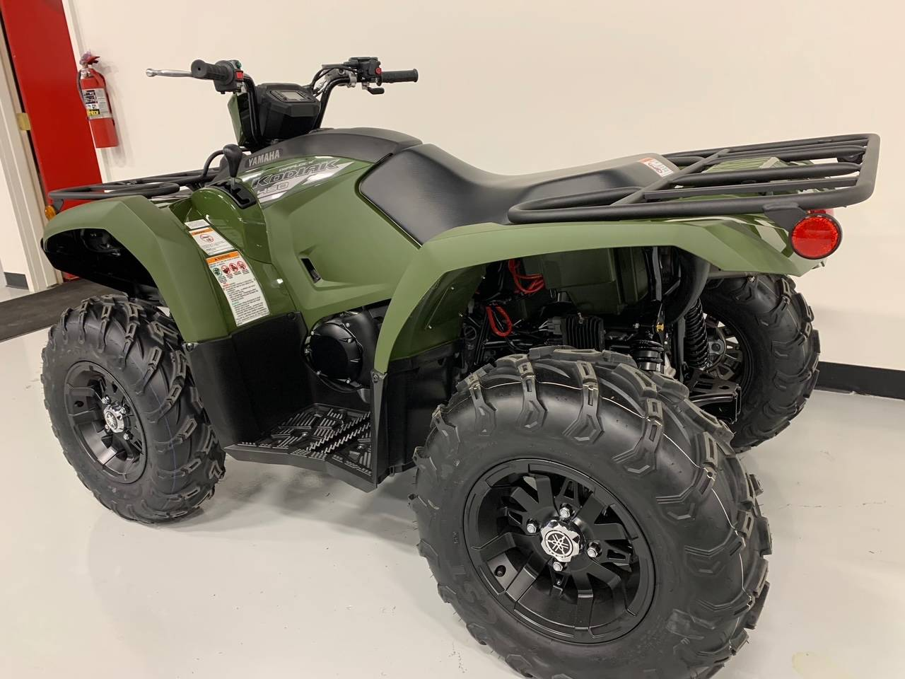 2021 Yamaha Kodiak 450 EPS in Brilliant, Ohio - Photo 7