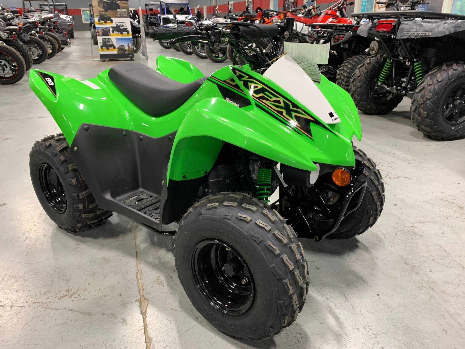 2021 Kawasaki KFX 90 in Brilliant, Ohio - Photo 1