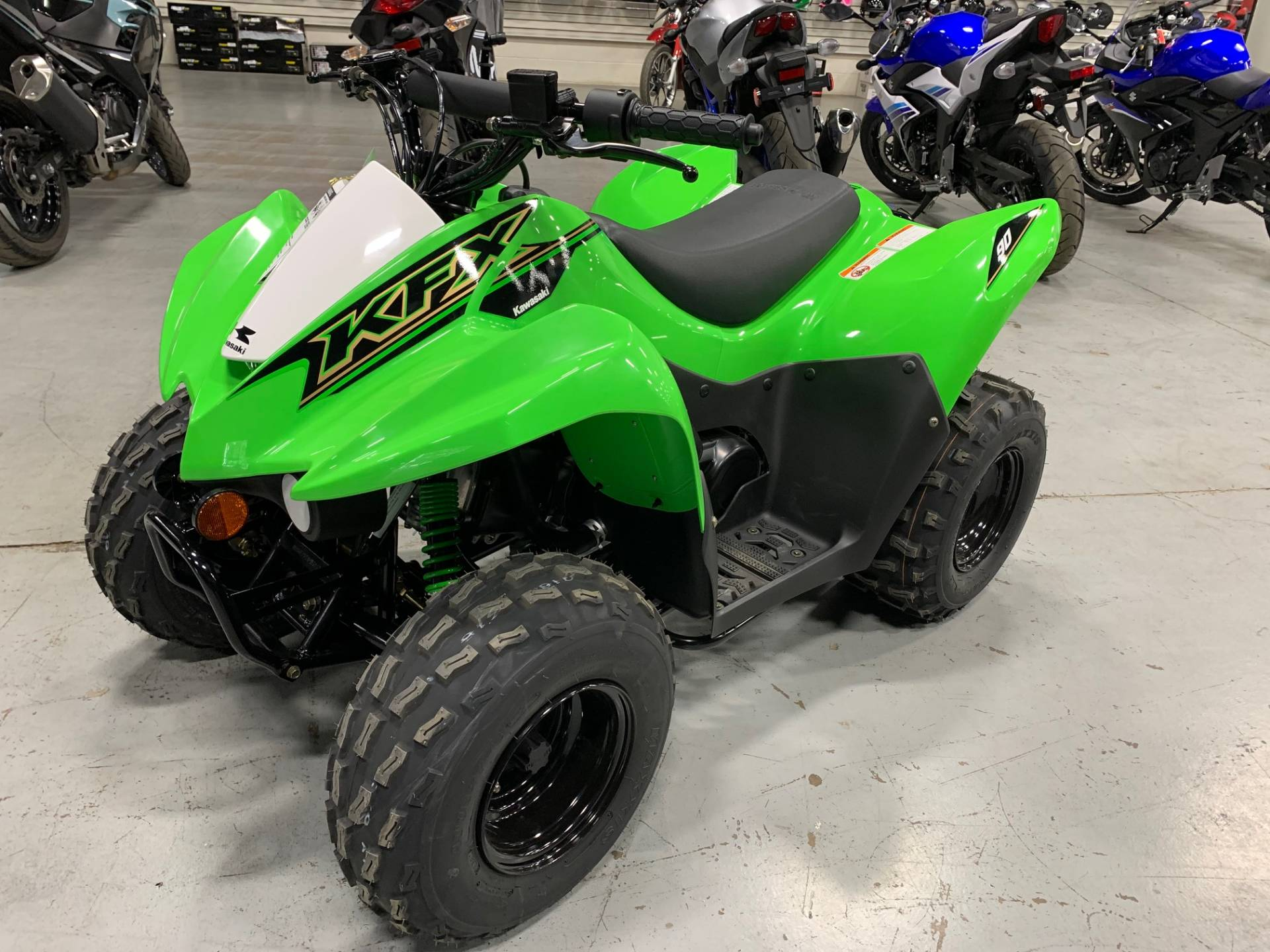 2021 Kawasaki KFX 90 in Brilliant, Ohio - Photo 3