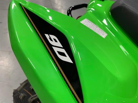 2021 Kawasaki KFX 90 in Brilliant, Ohio - Photo 9