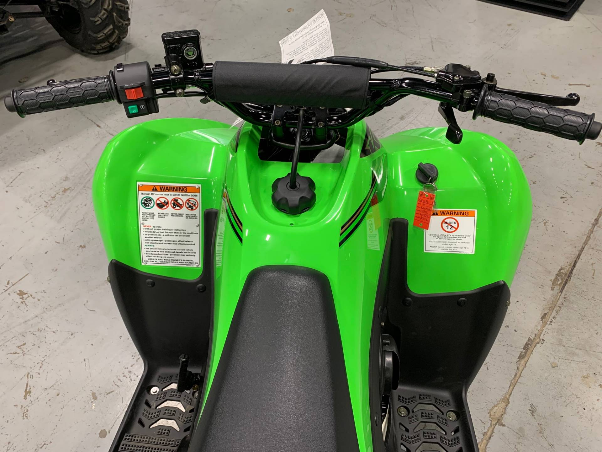 2021 Kawasaki KFX 90 in Brilliant, Ohio - Photo 14