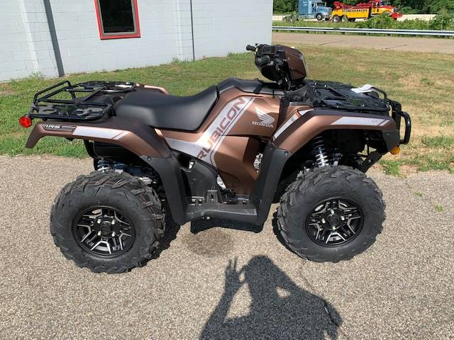 2021 Honda FourTrax Foreman Rubicon 4x4 Automatic DCT EPS Deluxe in Brilliant, Ohio - Photo 2