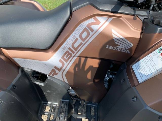 2021 Honda FourTrax Foreman Rubicon 4x4 Automatic DCT EPS Deluxe in Brilliant, Ohio - Photo 4