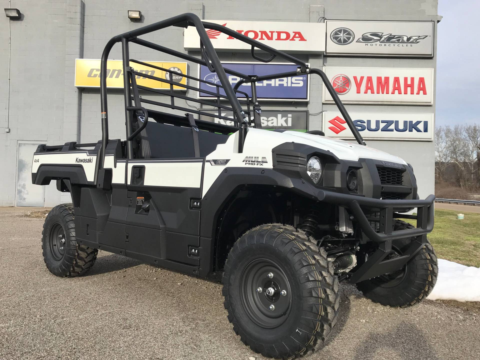 2019 Kawasaki Mule PRO-FX EPS in Brilliant, Ohio