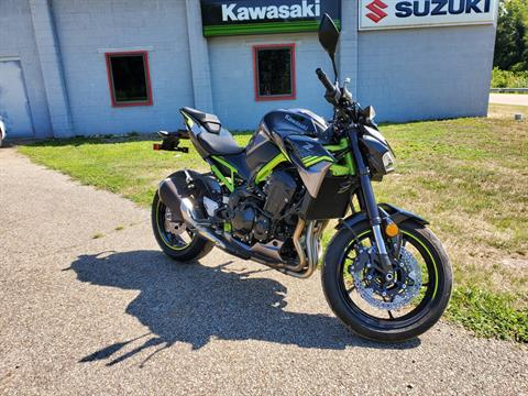 2020 Kawasaki Z900 ABS in Brilliant, Ohio - Photo 1