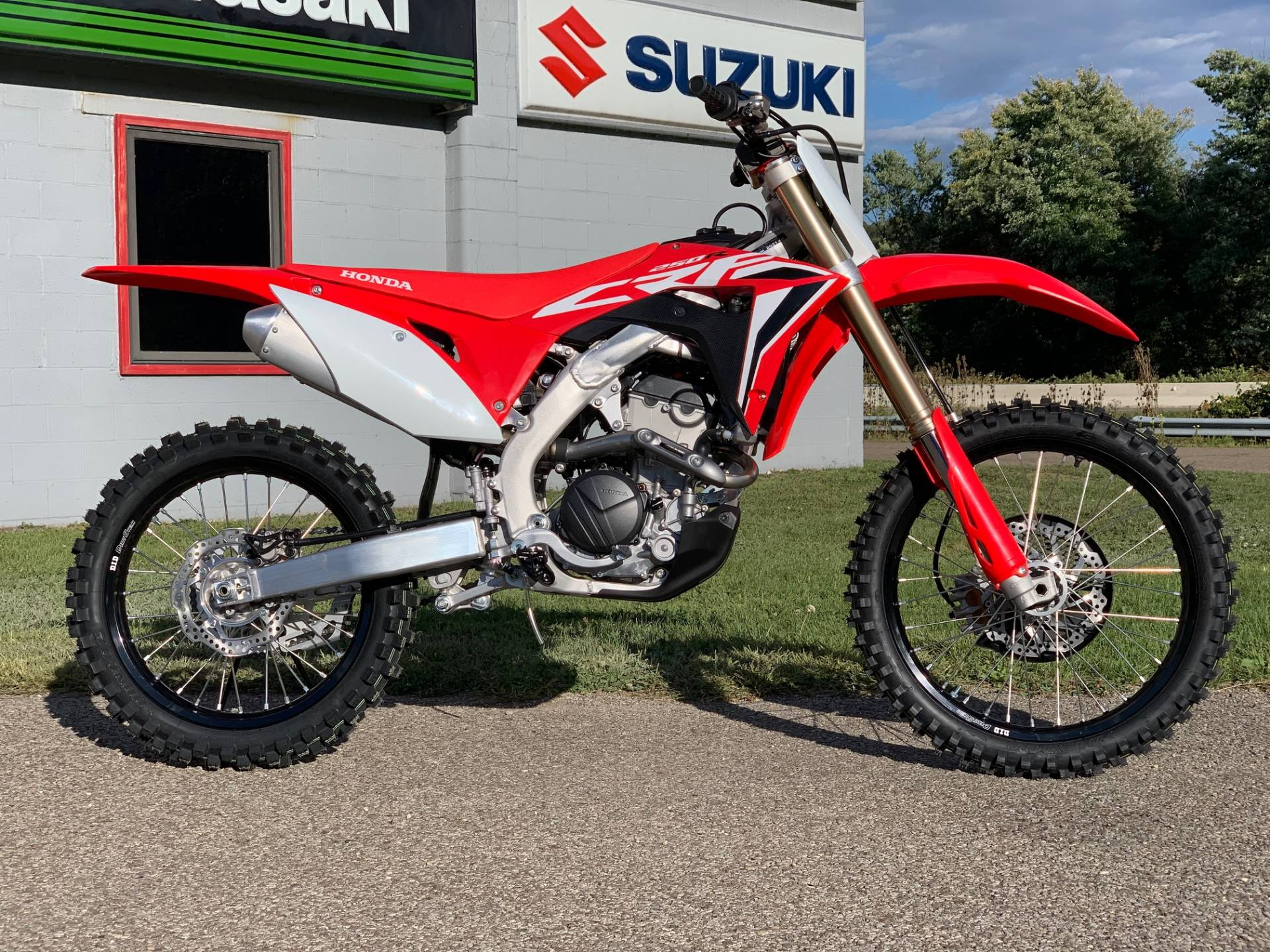 2021 Honda CRF250R in Brilliant, Ohio - Photo 2