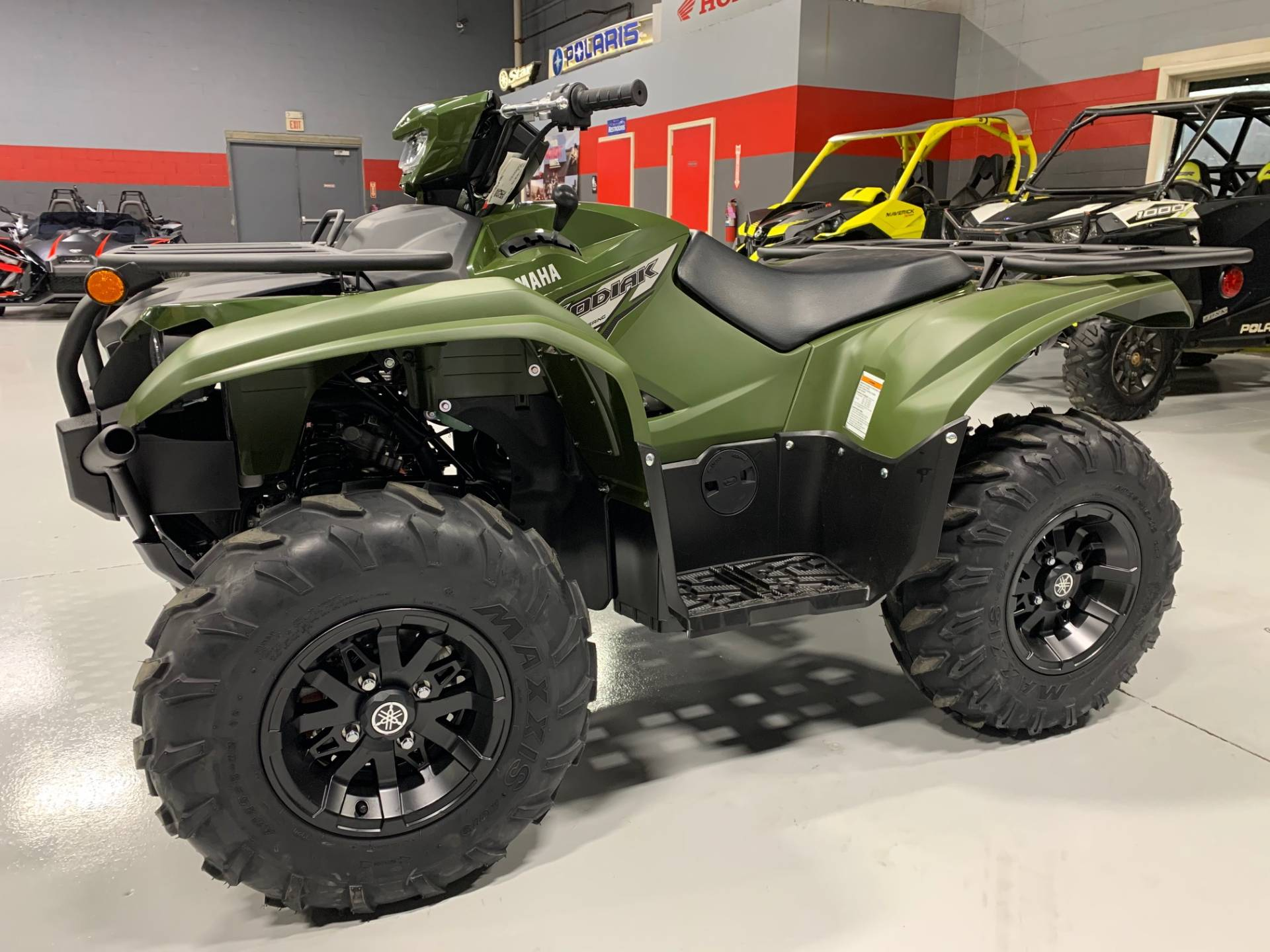 2021 Yamaha Kodiak 700 EPS in Brilliant, Ohio - Photo 5