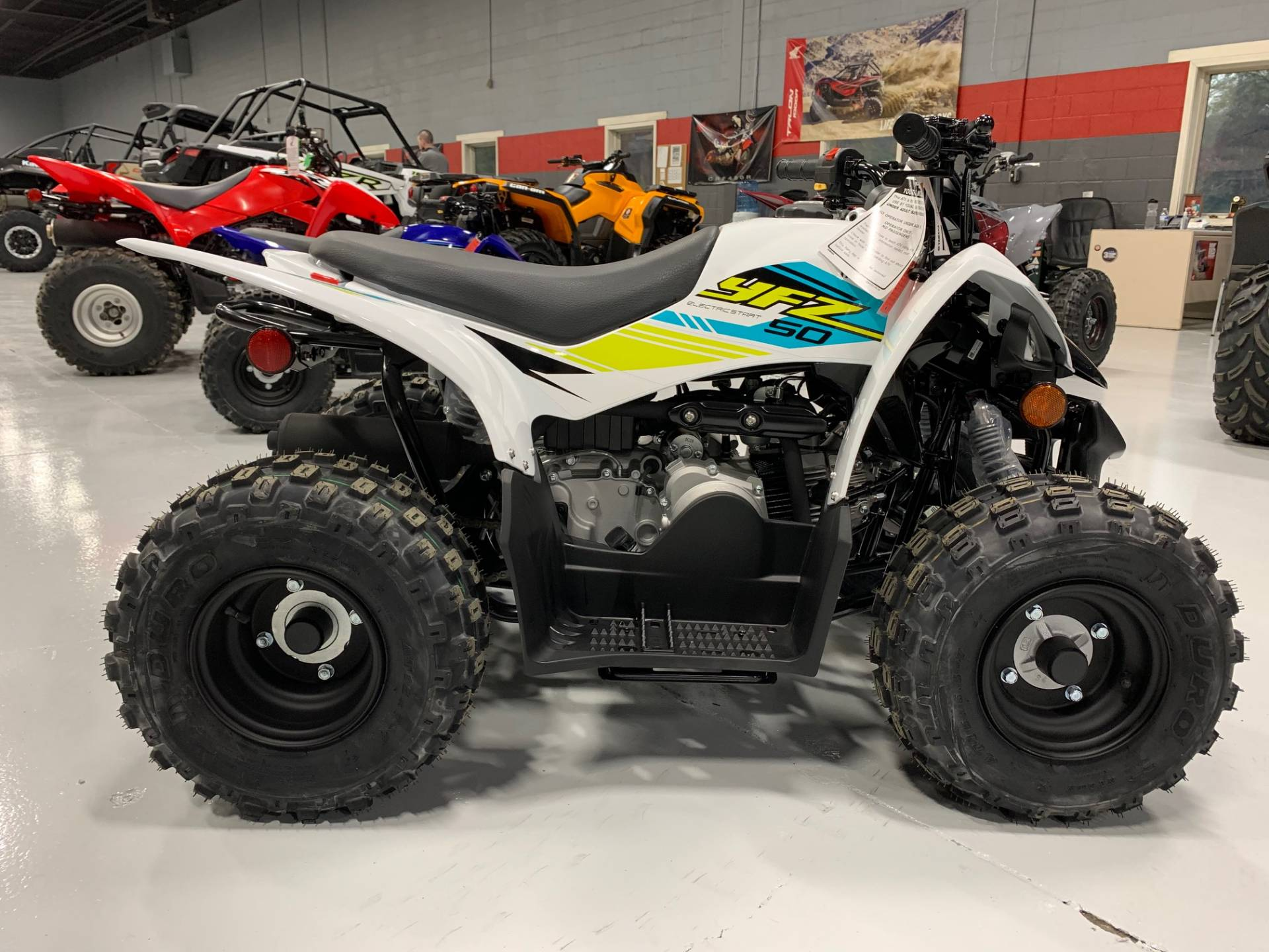 2021 Yamaha YFZ50 in Brilliant, Ohio - Photo 8