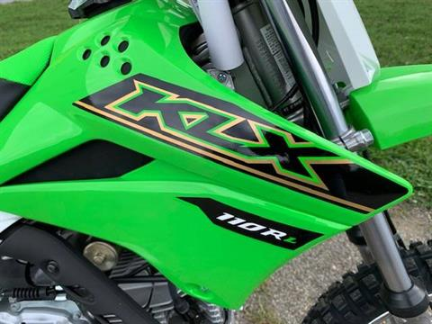 2021 Kawasaki KLX 110R L in Brilliant, Ohio - Photo 2