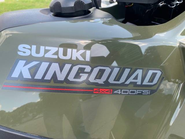 2020 Suzuki KingQuad 400FSi in Brilliant, Ohio - Photo 3
