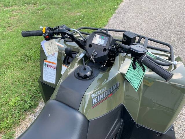 2020 Suzuki KingQuad 400FSi in Brilliant, Ohio - Photo 4