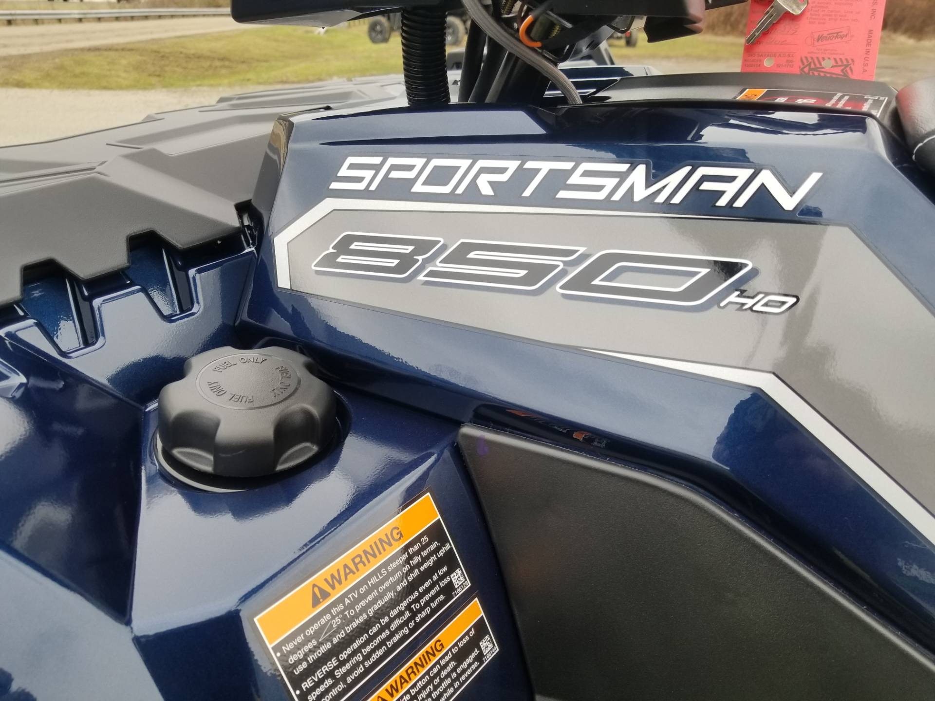 2020 Polaris Sportsman 850 Premium Trail Package in Brilliant, Ohio - Photo 9