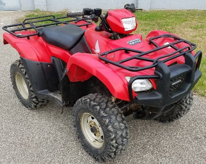 2013 Honda FourTrax Foreman 4x4 for sale 2821