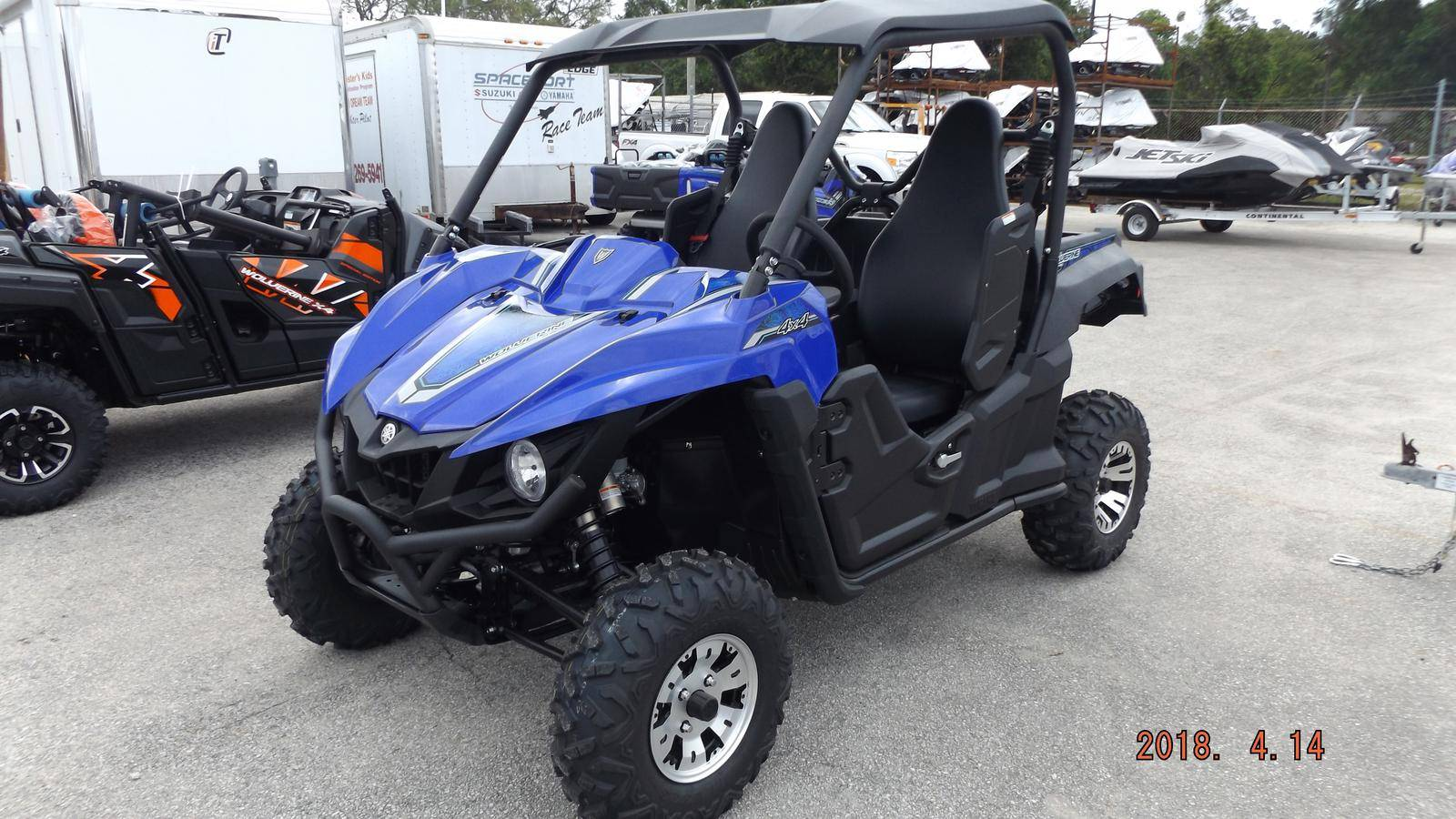 2018 Yamaha Wolverine R-Spec EPS in Brilliant, Ohio - Photo 1
