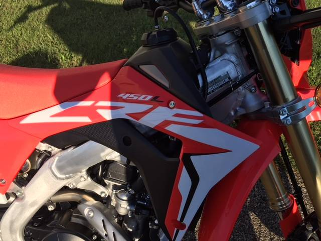 2019 Honda CRF450L in Brilliant, Ohio
