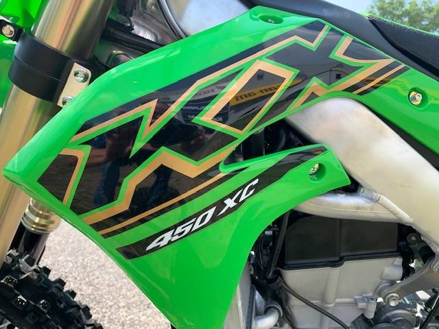 2021 Kawasaki KX 450X in Brilliant, Ohio - Photo 11