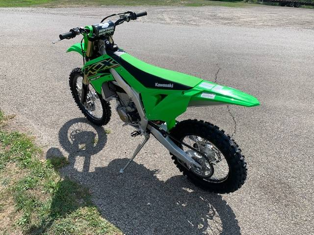 2021 Kawasaki KX 450X in Brilliant, Ohio - Photo 15