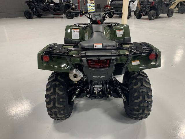 2021 Honda FourTrax Rancher 4x4 Automatic DCT IRS in Brilliant, Ohio - Photo 9