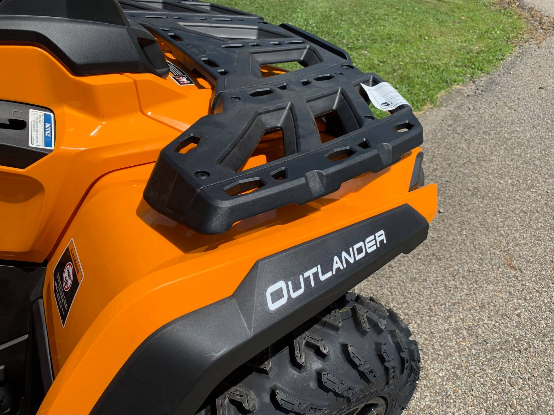 2019 Can-Am Outlander DPS 650 in Brilliant, Ohio - Photo 11