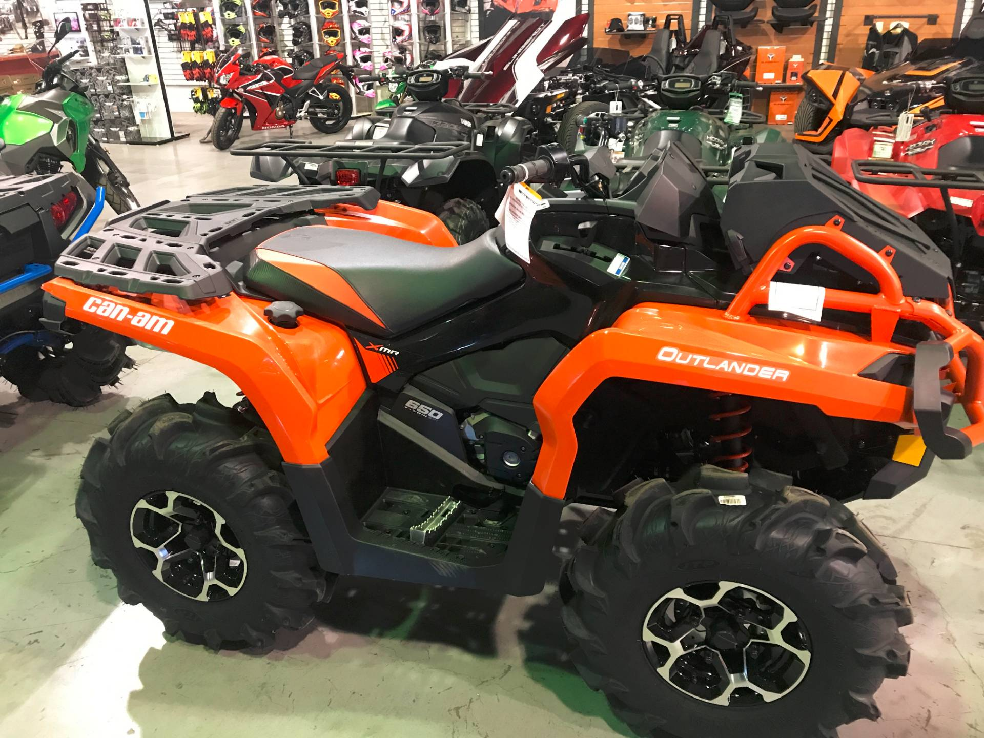 2018 can am outlander x mr 650 atvs brilliant ohio josh. Black Bedroom Furniture Sets. Home Design Ideas