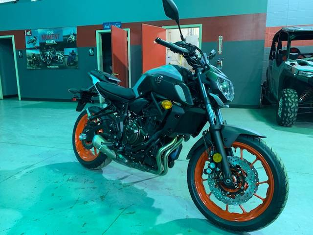 2019 Yamaha MT-07 in Brilliant, Ohio - Photo 2