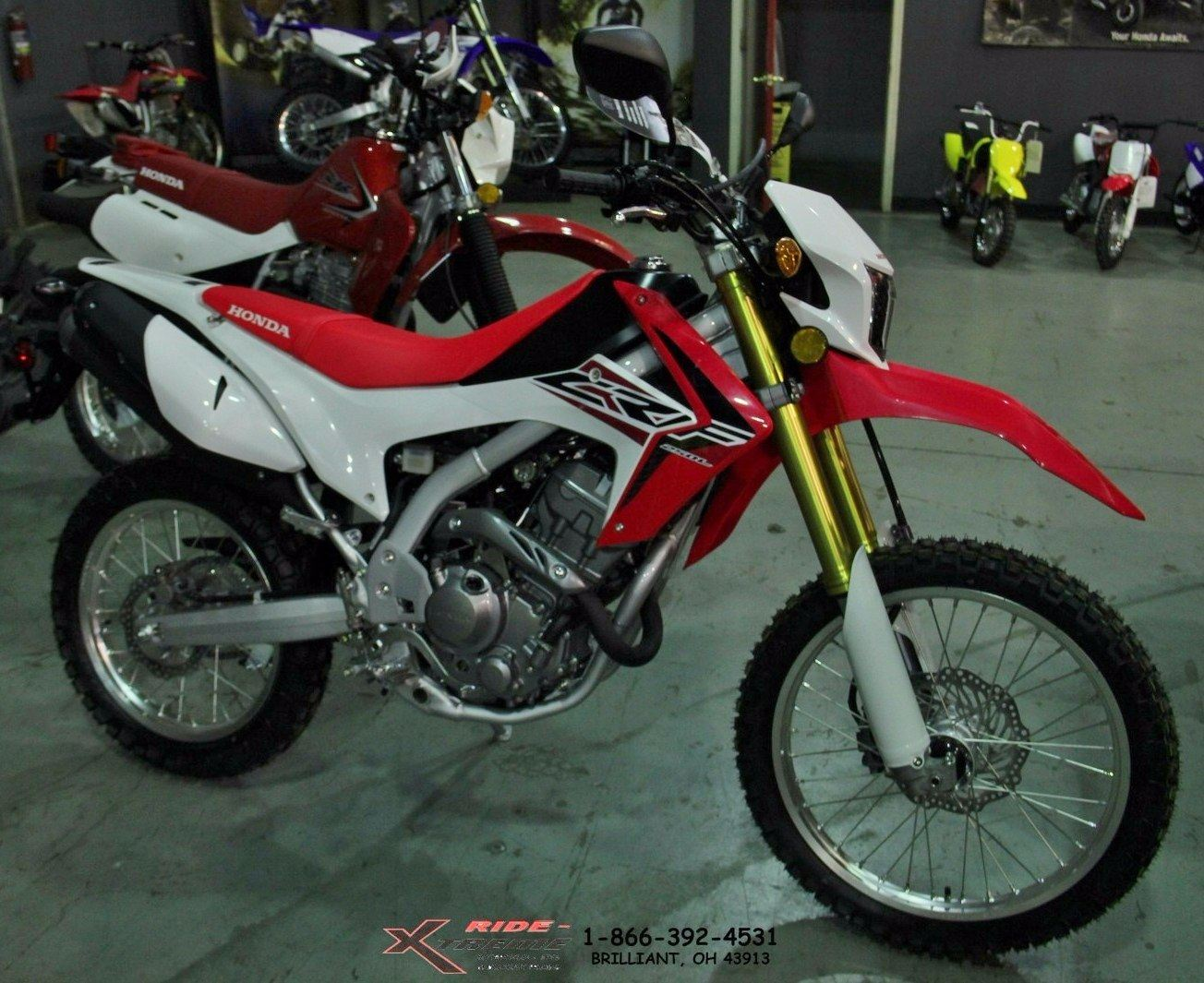 2016 Honda CRF250L for sale 784