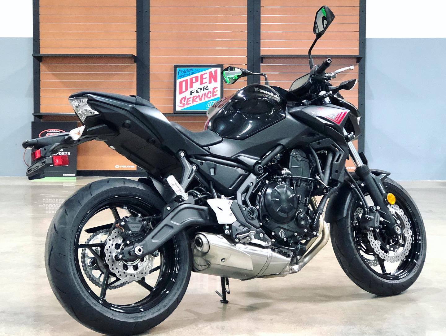2020 Kawasaki Z650 ABS in Corona, California - Photo 4