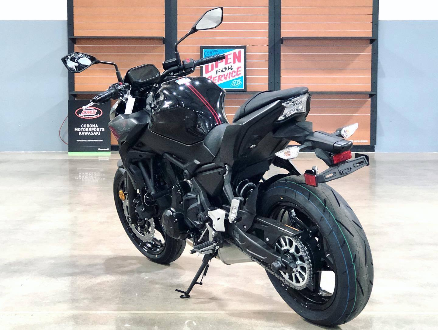 2020 Kawasaki Z650 ABS in Corona, California - Photo 5