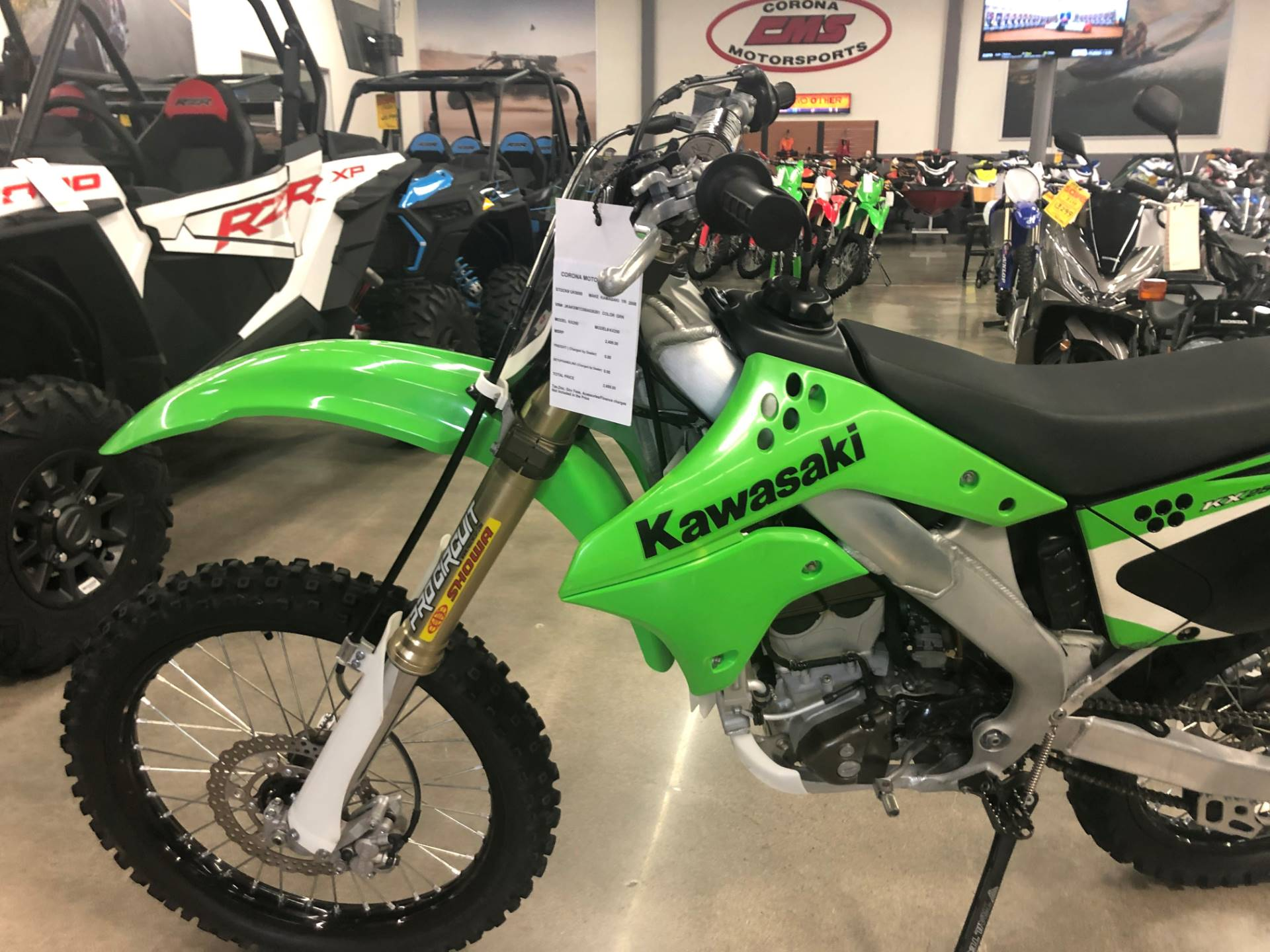 2008 Kawasaki KX™250F in Corona, California - Photo 2