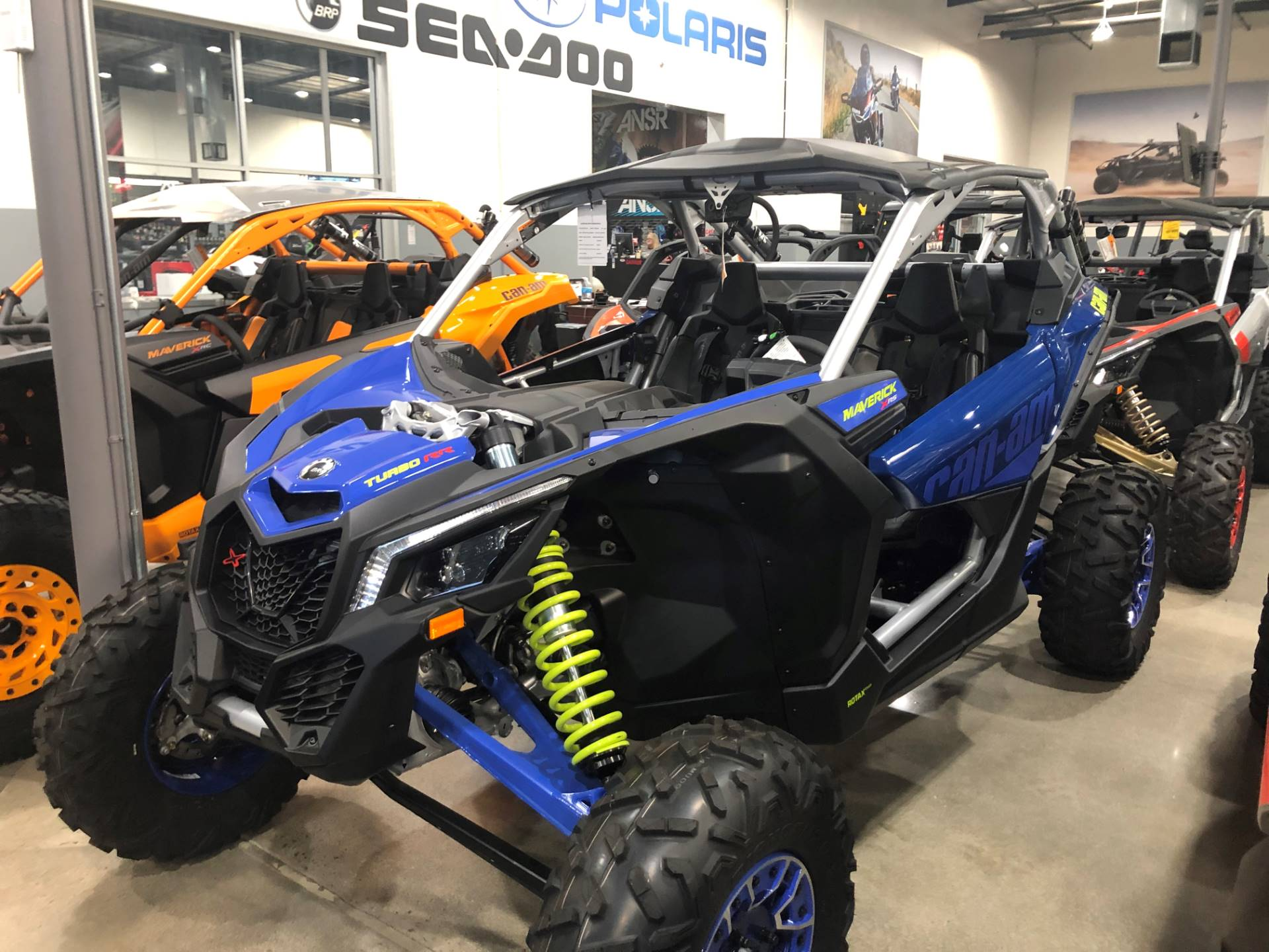 2020 Can-Am Maverick X3 X RS Turbo RR in Corona, California - Photo 1