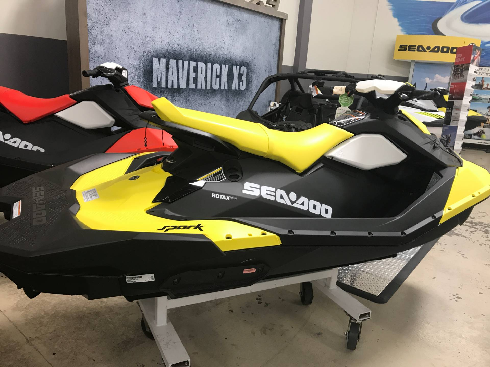 2016 Sea-Doo Spark 3up 900 H.O. ACE w/ iBR & Convenience Package Plus in Corona, California